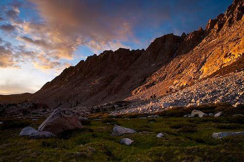Sunset in Evolution Valley