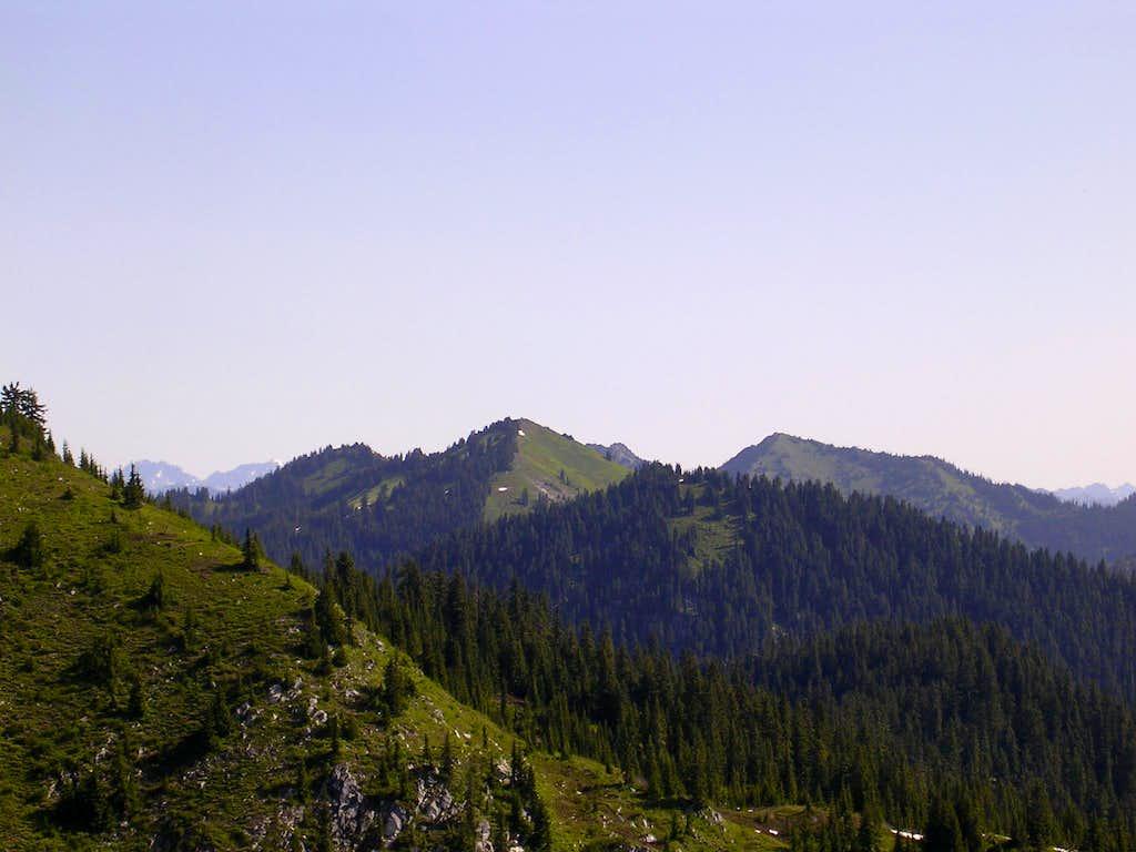 Jove Peak, as seen from Valhalla Mountain