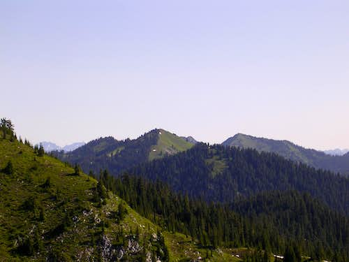 Jove Peak, as seen from Valhalla Mountain
