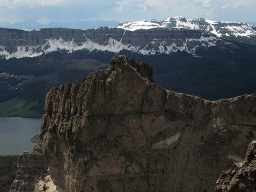 Brooks Lake Cliffs and Breccia Peak