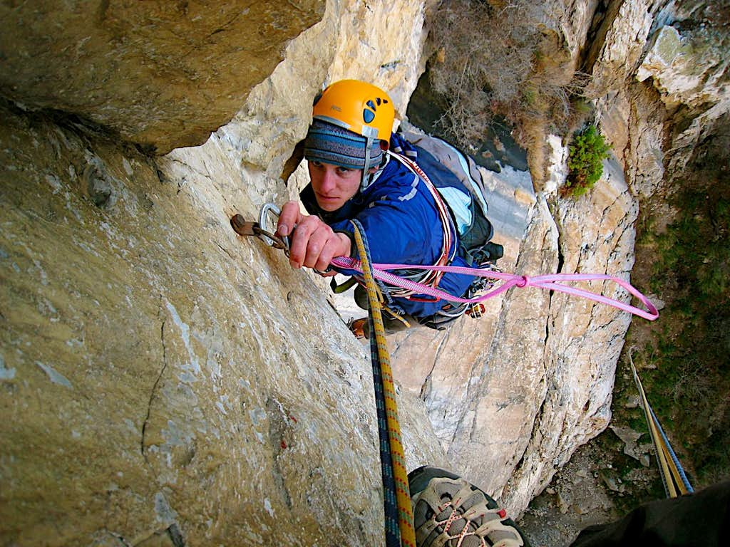 Overhang inspection