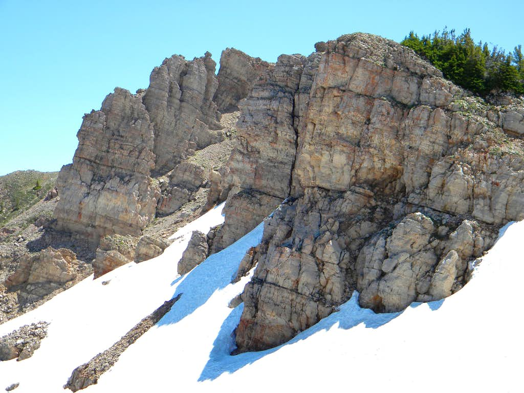 North Rocks, Point 9,800