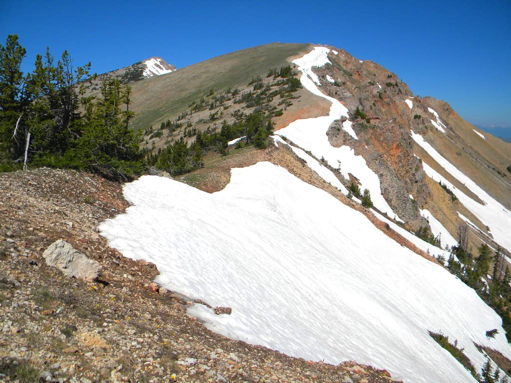 On the East Ridge Route