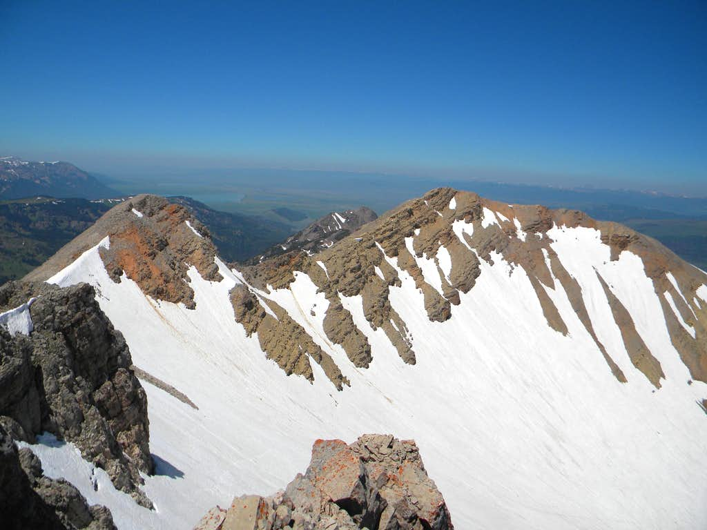 The Central and West Summits of Mt. Jefferson