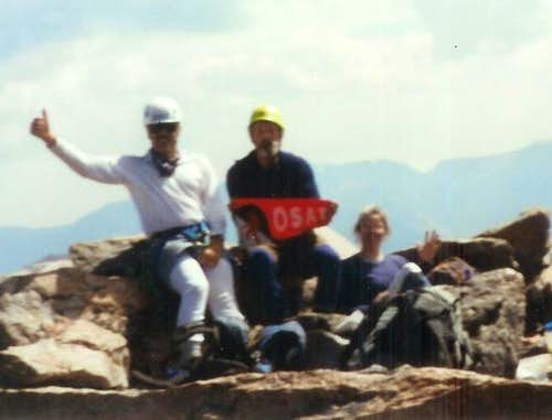Rik Jim Shirley Granite Peak Montana 082994