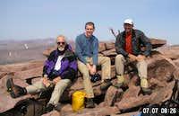Rik Richard Dan Kings Peak Utah 070707