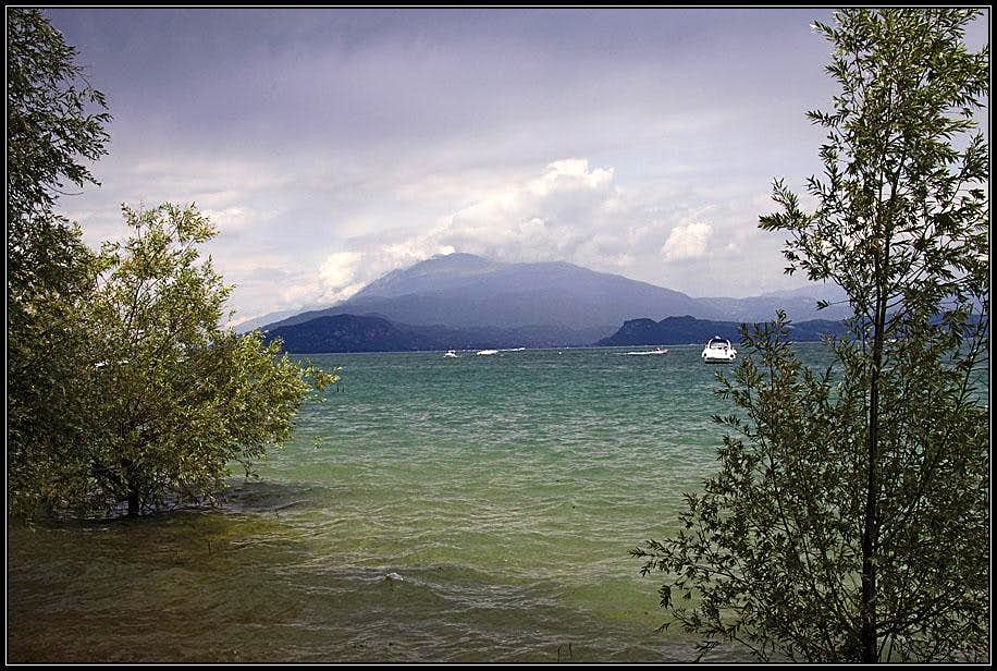 Monte Baldo from Sirmione