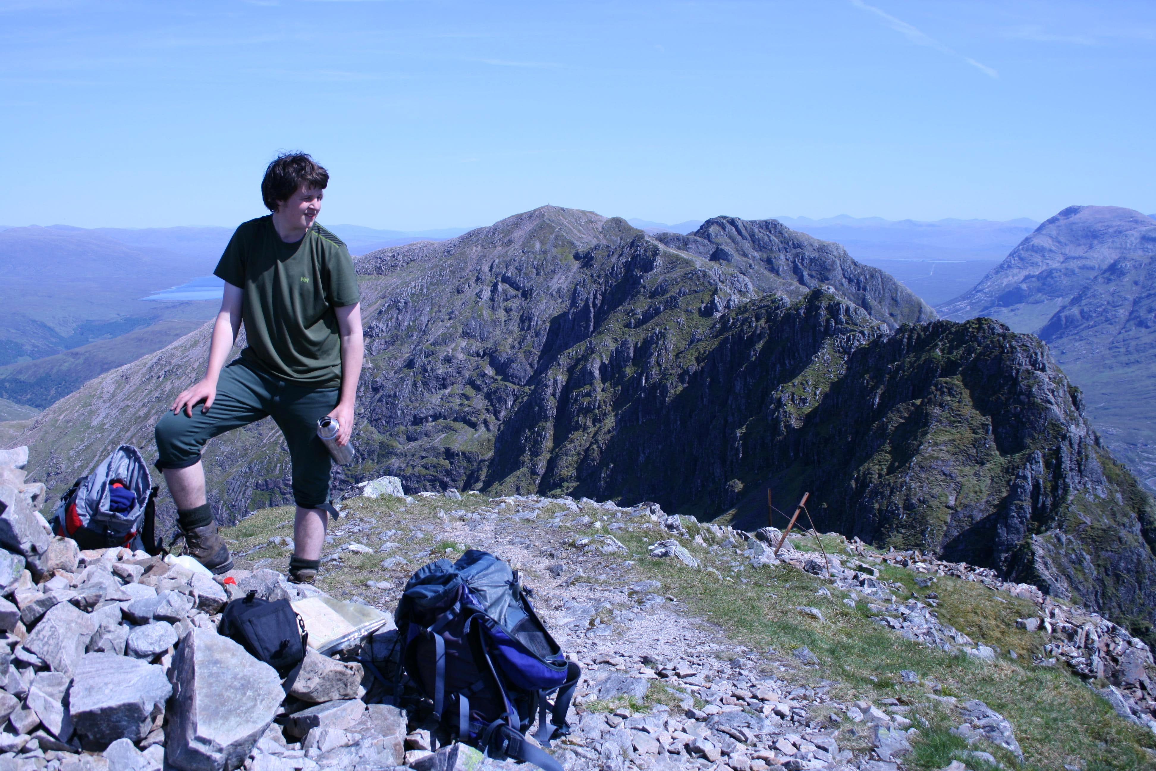 A Close run thing on the Aonach Eagach