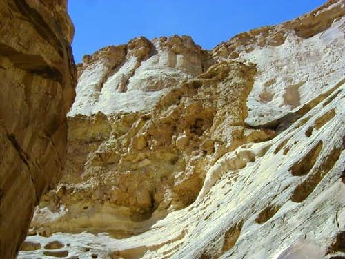Sandstone and conglomerate...
