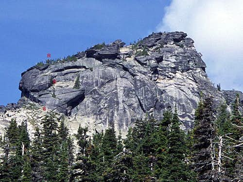 West Lions Head - South Face