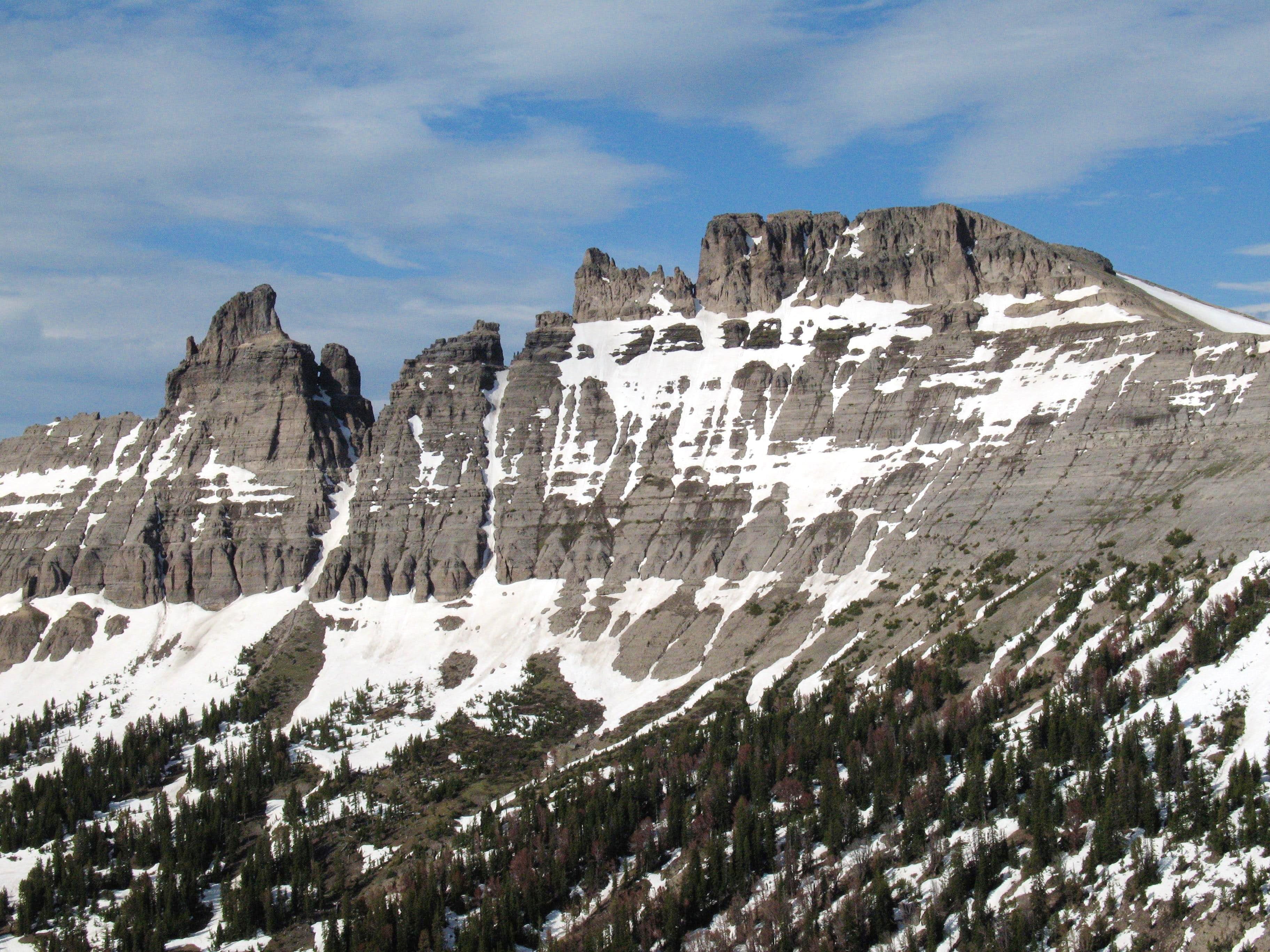 Pinnacle Buttes-- Northwest Peak