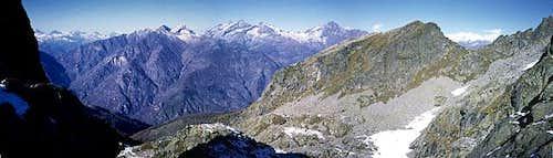panoramic view from Carisei
