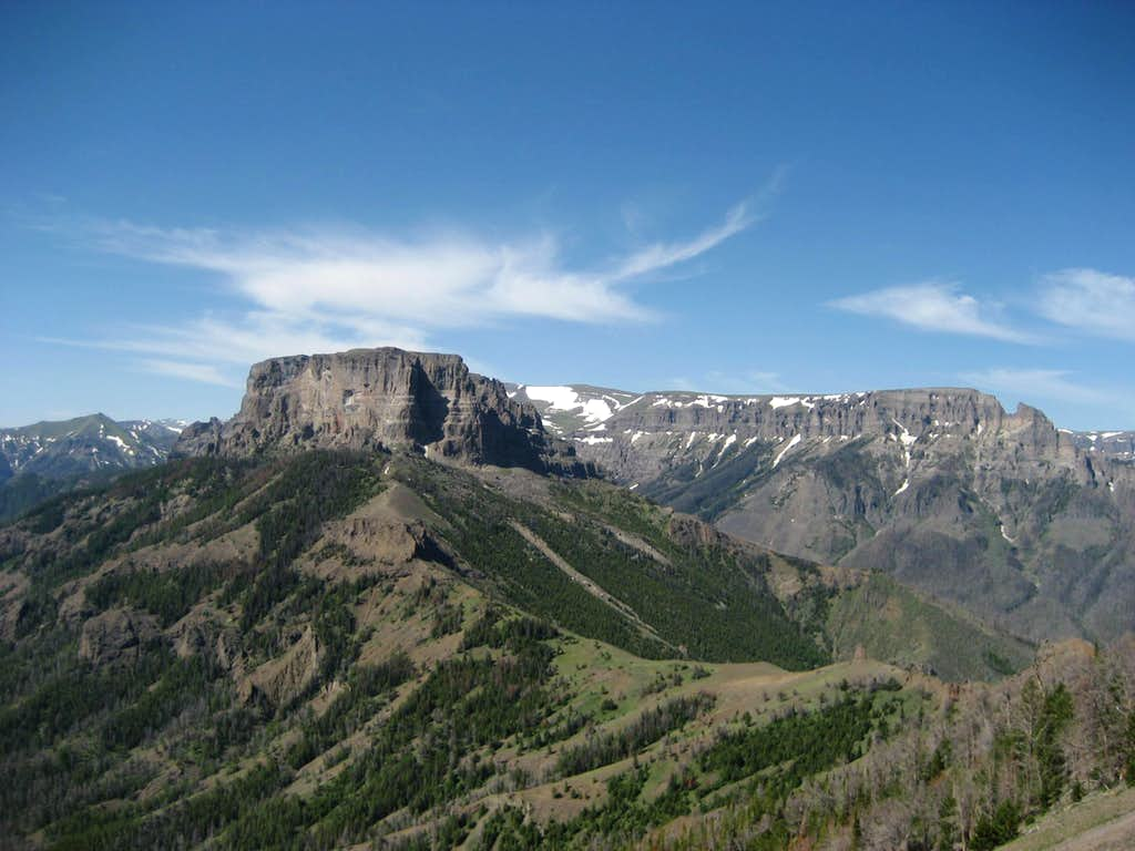 Double Mountain and Sheep Mesa