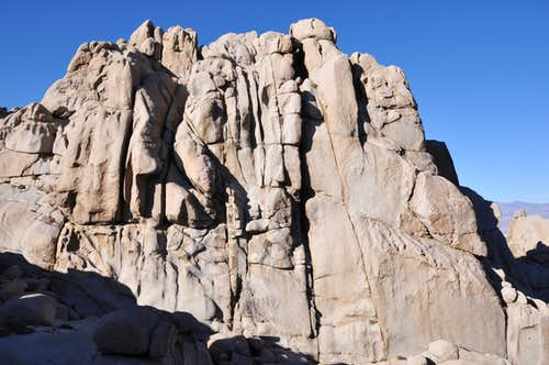 South West Face of The Slab,