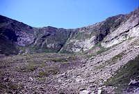 Westward view of North Basin
