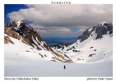 Velika Kalica valley