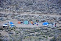 camping at The Buttermilks...