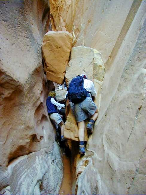 Surmounting an obstacle in a...