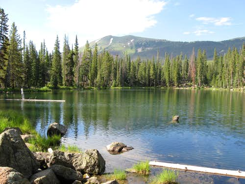 Lost Lake and Cascade Mountain