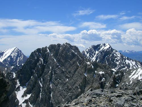Triple Peak View