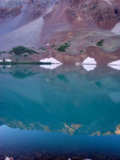 Reflection in Navajo Lake