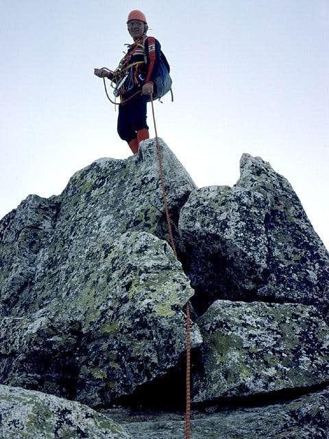 my old friend and climbing...