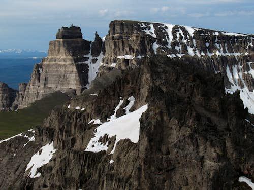 Pinnacle Buttes-- Main Summit