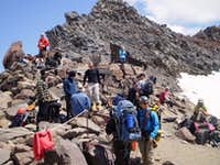 The Crowd at Camp Muir