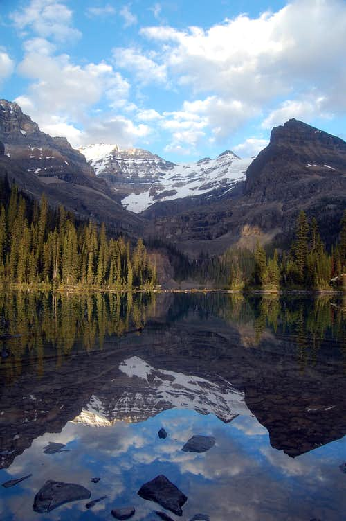 Lake O\'Hara at sunset
