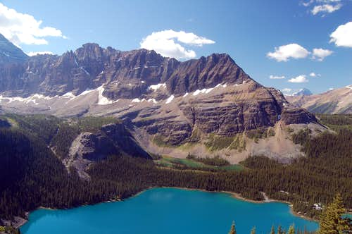 Shaffer Ridge above Lake O Hara