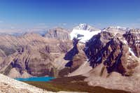 Mt Fay & Moraine Lake