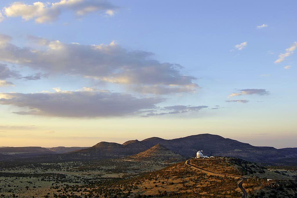 Black Mountain & Telescopes