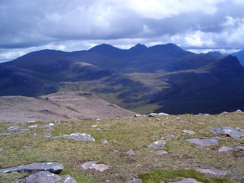 An Teallach from Sail Mhor