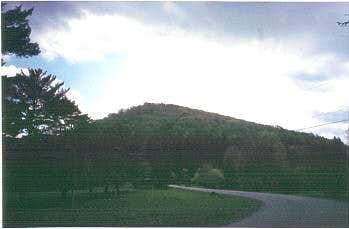 Backbone Mountain from rt. 219