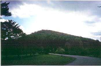 Backbone Mountain from rt. 219