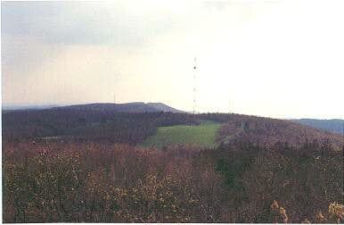 View South from the summit of...