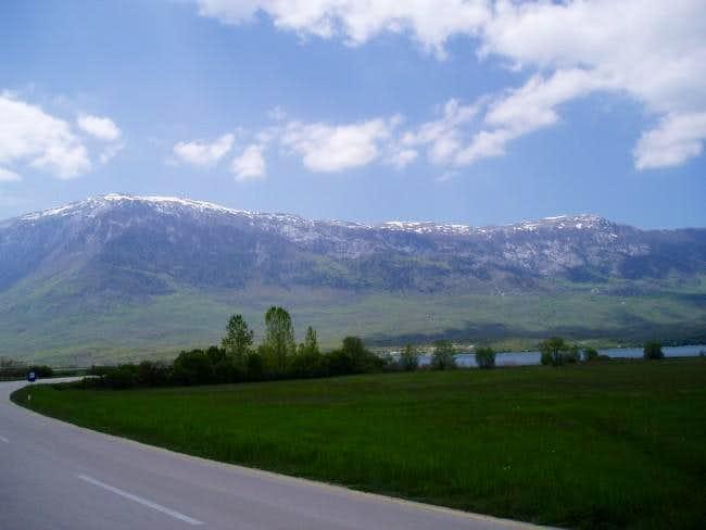 North side of Kamesnica....