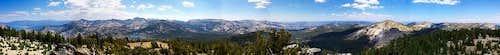 Phipps Peak Summit Panorama