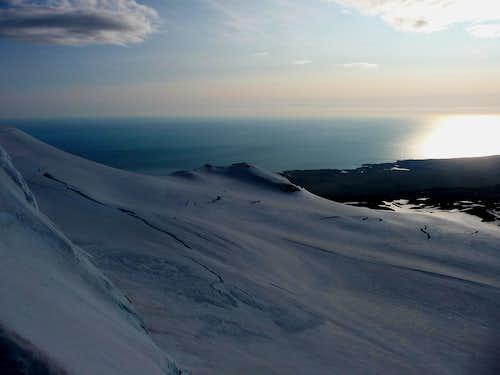 Snæfellsjökull view from the summit