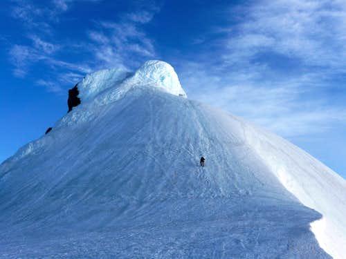 Snæfellsjökull summit pinnacle