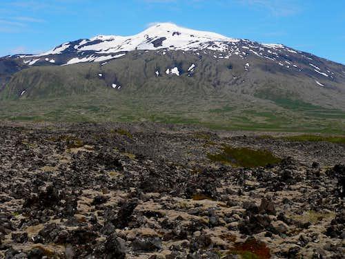 View of Snæfellsjökull