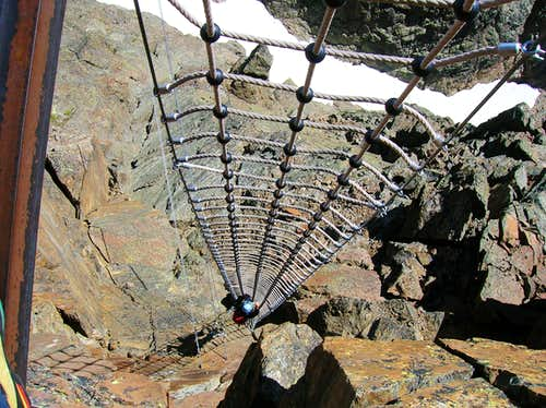 Climbing the net