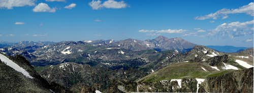 from Indian Peaks