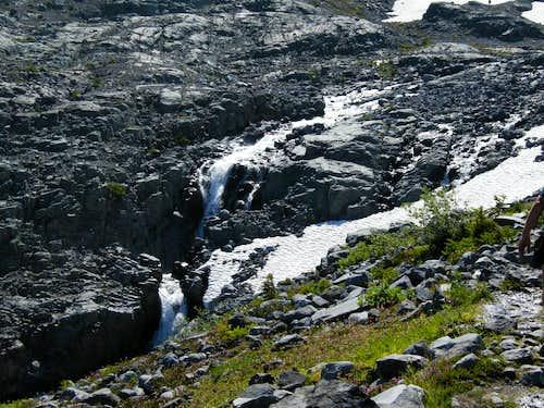 Waterfalls above Summerland