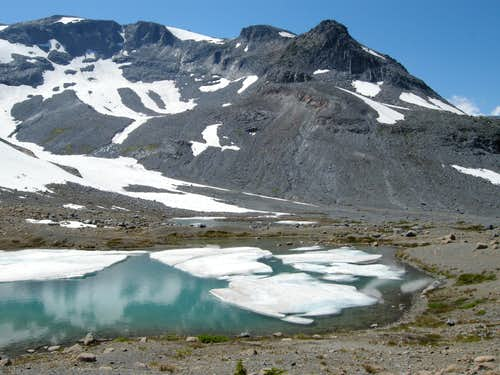 Meany Crest and Glacial Tarn
