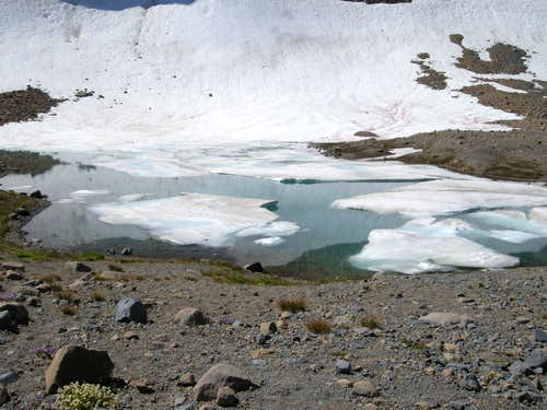 Glacial Lake above Summerland