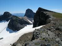 Banshee Peak and Cowlitz Chimneys