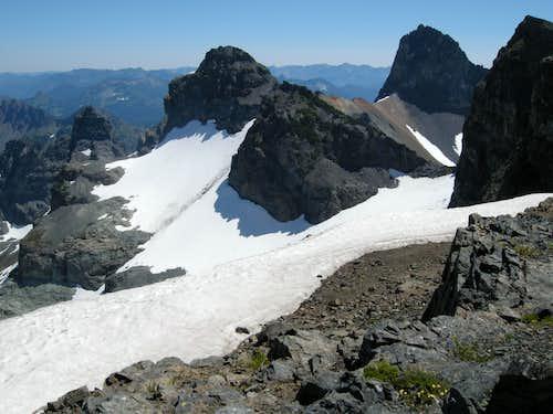 Sarvent Glaciers