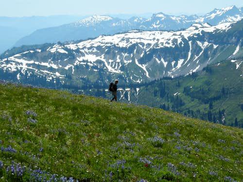 Descending slopes of Banshee