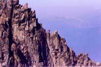 Nearing the summit via the...